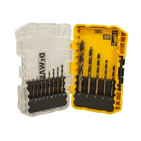 DEWALT DT70727 Black & Gold HSS Drill Set 14 Piece - XMS19DGOLD14