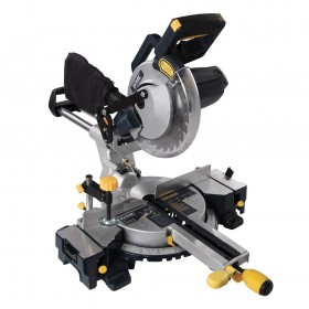 GMC GM210S 1800W Double Bar Sliding Mitre Saw 210mm - 378634