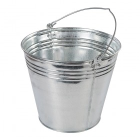 Silverline Galvanised Bucket 3pk 14Ltr - 907044