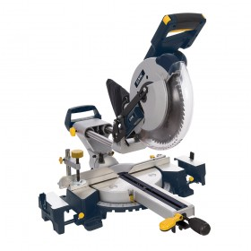 GMC 1600W Double Bar Sliding Mitre Saw 255mm GM255S - 944372