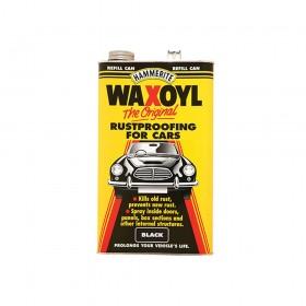 Hammerite Waxoyl Refill Can Black 5 Litre