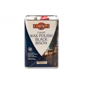 Liberon Liquid Wax Polish Black Bison Neutral 5 Litre