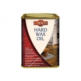 Liberon Hard Wax Oil Clear Matt 1 Litre