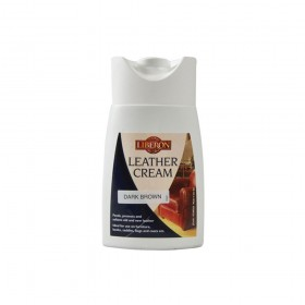 Liberon Leather Cream Dark Brown 150ml