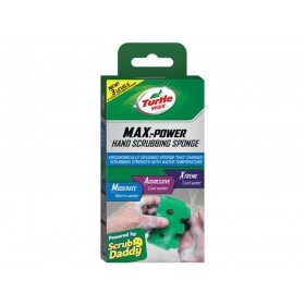 Turtle Wax M.A.X.-Power Hand Scrubbing Sponge