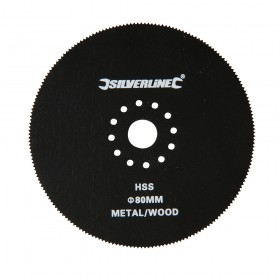 Silverline Multi-Tool Circular Cutting Blade 80mm