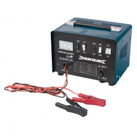 Silverline Battery Charger 12/24V 20 - 240Ah Batteries