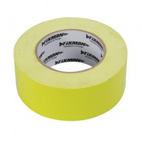 Fixman Heavy Duty Duct Tape Hi-Vis 50mm x 50m