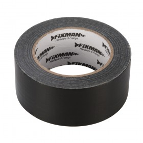 Fixman Heavy Duty Duct Tape 50mm x 50m Black