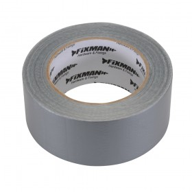 Fixman Heavy Duty Duct Tape 50mm x 50m Silver
