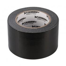 Fixman Heavy Duty Duct Tape 72mm x 50m Black