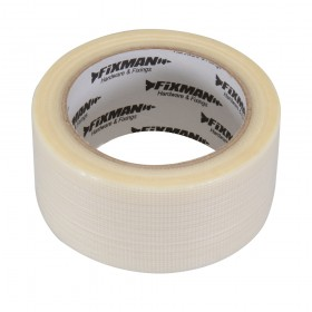 Fixman Heavy Duty Duct Tape 50mm x 20m Clear