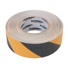 Fixman Anti-Slip Tape 50mm x 18m Black/Yellow