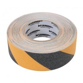 Fixman Anti-Slip Tape 50mm x 18m Black/Yellow