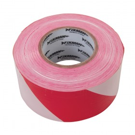 Fixman Barrier Tape 70mm x 500m Red/White