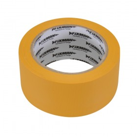 Fixman Builders Tape 50mm x 33m Yellow