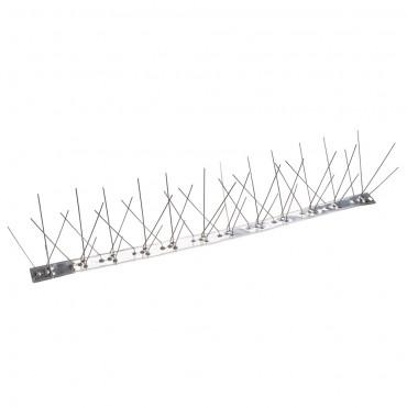 Fixman Stainless Steel Bird Spikes 10pk 500mm (4 Spike)