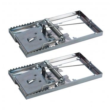 Fixman Metal Mouse Trap 2pk 115 x 60mm