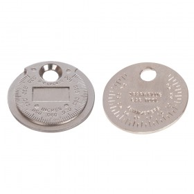 "Silverline Spark Plug Gap Tool 0.5 - 2.55mm / 0.02 - 0.1"""