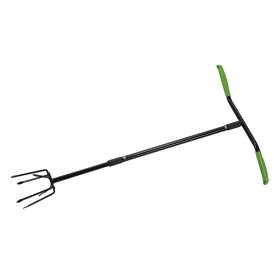 Silverline Long-Handled Twist Cultivator 950mm
