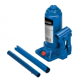 Silverline Hydraulic Bottle Jack 4 Tonne