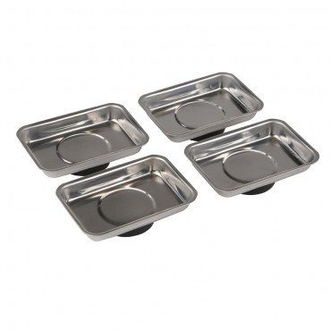 Silverline Magnetic Tray Set 4pce 95 x 65mm
