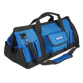 Silverline Tool Bag Hard Base 600 x 280 x 260mm