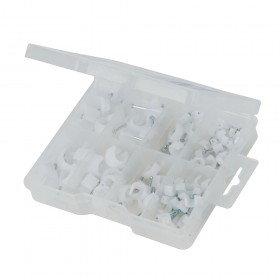Fixman Cable Clips Pack 86pce - 264401