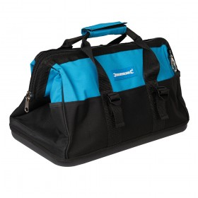 Silverline Tool Bag Hard Base Wide Mouth 406 x 230 x 200mm