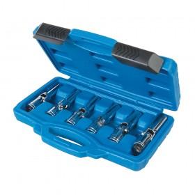 """Silverline Glow Plug & Spark Plug Socket Set 6pce 3/8"""" / 8 - 16mm - 278096"""