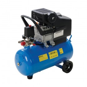 Silverline DIY 2hp Air Compressor 1500W 24Ltr - 324178