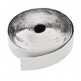 Fixman Hook & Loop Reel White Self-Adhesive 2pce 20mm x 5m