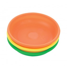 Silverline Magnetic Parts Dish Set Hi-Vis 3pce 150mm Dia