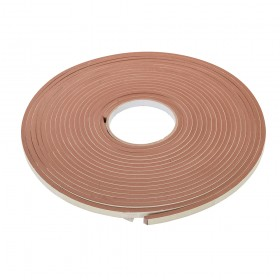 Fixman Self-Adhesive EVA Foam Gap Seal 3-8mm / 10.5m Brown