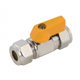 Plumbob Straight Mini Ball Valve 10mm - 398593