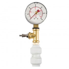 Dickie Dyer Dry Pipe Test Gauge 0-4bar - 11.084