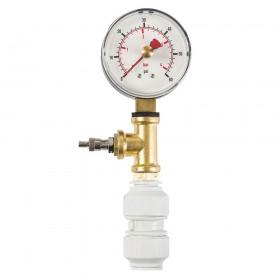 Dickie Dyer Dry Pipe Test Gauge 0-4bar - 11.084