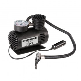 Silverline Mini Air Compressor 12V DC