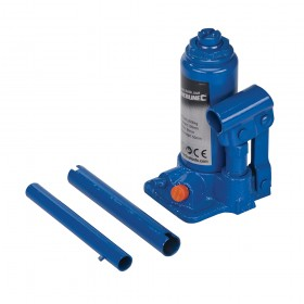 Silverline Hydraulic Bottle Jack 2 Tonne
