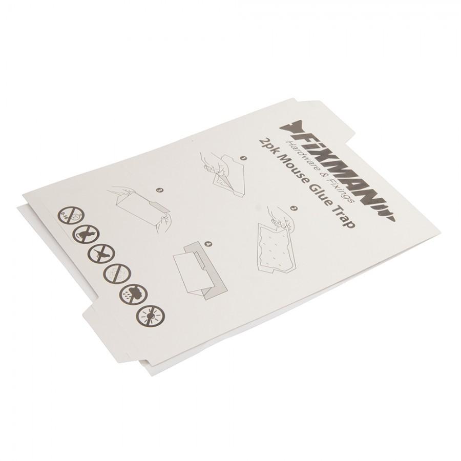 Fixman Mouse Glue Trap 2pk 2pk | Qwikfast Trade & DIY