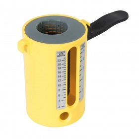 Dickie Dyer Flow Measure Cup 2.5-22Ltr / 1/2-5 Gallons - 11.083Y Yellow