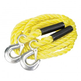 Silverline Tow Rope 2 Tonne 4m x 14mm