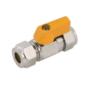 Plumbob Straight Mini Ball Valve 8mm - 473877