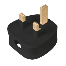 PowerMaster 13A Fused Plug Black - 488289