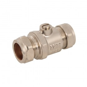 Plumbob Full Bore Isolating Valve 22mm - 495657