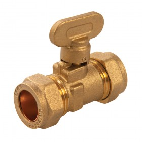 Plumbob Gas Isolating Valve 15mm - 499477