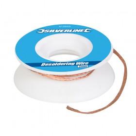 Silverline Desoldering Wire 2mm
