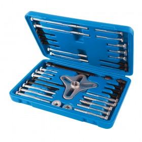 Silverline Harmonic Balancer Puller Set 46pce 40 - 93mm - 515011