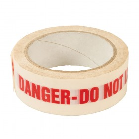 Dickie Dyer DANGER DO NOT USE' Identification Tape 38mm x 33m - 90.713