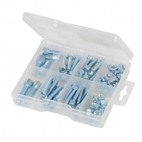 Fixman Cap Screws & Nuts Pack 75pce - 520988